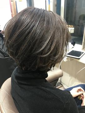 嶋村夏実★アゴライン☆レイヤーボブ☆