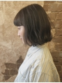 magiy hair [nico] ふわミディ グレージュ