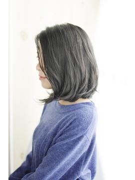 小顔グラデーションカラーバターブランジュ美髪ダブルバング/239