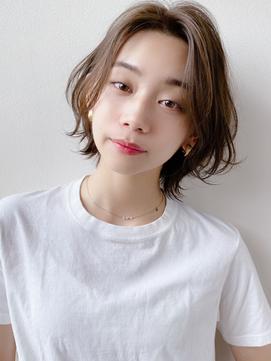 [K-two青山]かきあげ前髪/あざとショー/クセ毛ウェーブ/カール