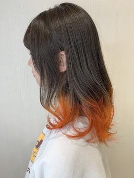 【REJOICE hair EN】禰豆子×pumpkin orange 担当AKIRA