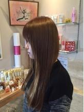 『髪質改善!!極上トリートメント』7工程で潤いをぎゅっと閉じ込め、芯から潤いを与えます☆