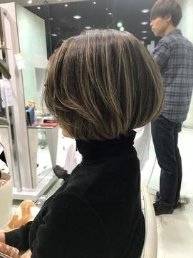 2020年冬】ショート メッシュのヘアスタイル・ヘアアレンジ