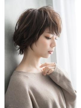 【Luana 梅田】甘辛ミックスショートボブ