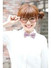お団子+ツインテール+メガネ=読モ風ロリポップアレンジ ツインテール.44