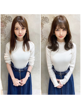 渋谷アフロート☆必ずイメチェンできる大人シルエット☆ひし形☆