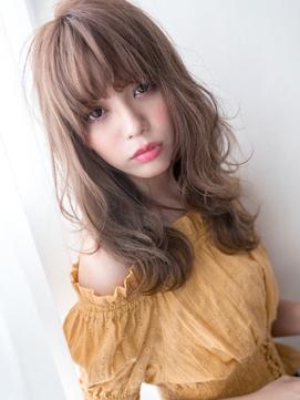 厚盛りフェミニン☆甘めSラインウェーブロング