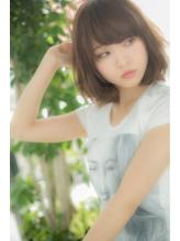 【Euphoria】ふんわり重めバング×大人カワイイナチュラルボブ☆ 大人カワイイ.52