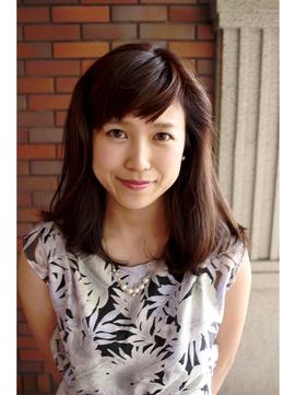 綾瀬はるかさん風~オトナ可愛い~ピュア!短め流し前髪