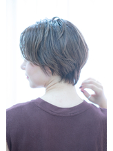大人ナチュラルな小顔ひし形ショートボブ.26