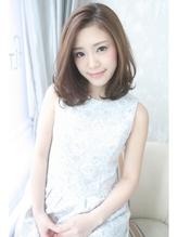 ☆Inity☆上品ふんわり透け感ミディ ワンレングス.38