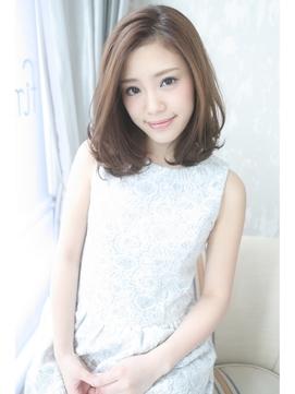 ☆Inity☆上品ふんわり透け感ミディ