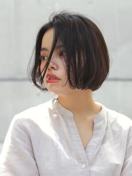 《AWESOME》暗髪×シースルBOB☆