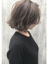 【RIMA】  切りっぱなし質感ボブ×抜け感ハイライト オフィス.33