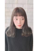 ぱっつんオン眉★グレイアッシュ.31