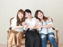 troisは女性スタイリストONLY★笑顔あふれるスタッフがキレイの法則教えます!!