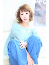 【Aere池袋】☆ヌードカラー×ゆるふわボブ☆小林 正重.9