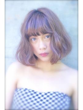 【VISION】ベリー系♪ブリーチ2回×ピンクバイオレットアッシュ