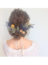 #ブライダルヘア 花嫁.24