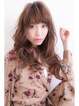 『PD垂水』大人かわいい小顔ロングカール☆エアリーなグレージュ.26