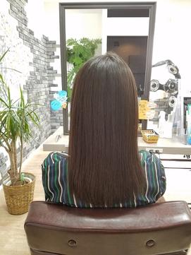 髪質改善の想いに年齢は関係ありません。17歳の高校生