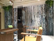 お客様にくつろいで頂ける空間&雰囲気作りを心がけています。