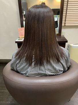 髪質改善+カラー