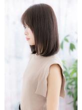 ナチュラルかわいい◎黒髪クラシカルワンカールミディ.3