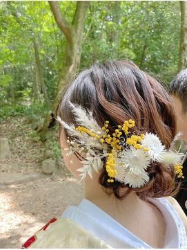 花嫁ヘアアレンジ