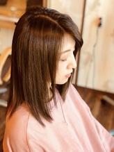 《極上のツヤ髪》を実現。ナチュラルな柔らかストレートが大人気。お悩みヘアは【repetie hair】にお任せ◎