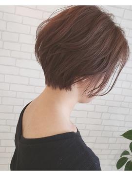 【D&T hair 大手町店】20/30/40/50/60代 女性らしいショート