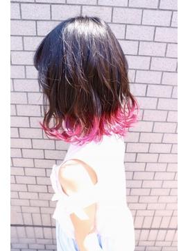 Lia&汐見悠佑 キッズ裾カラー