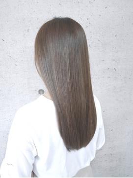髪質改善 艶髪 『アッシュ×ベージュ』