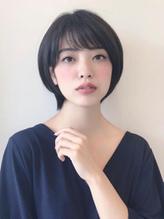 大人ショートボブスタイル.8