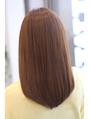 【FORTE】サラサラストレートヘア♪自然な内巻きが魅力的♪