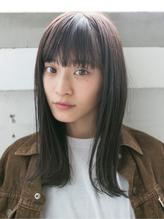【SOCO】パツっとした毛先がかわいい◎伸ばしかけブラントカット .15