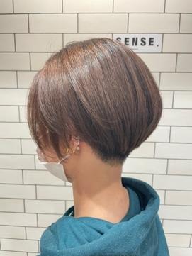 涼しげヘア 刈り上げ女子