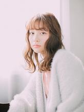 ecrin 【猪股志帆】 スプリングパーマ×チェリーアッシュ.16