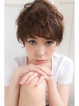 【lamphair 】黒髪◎パリジェンヌショート♪No.2