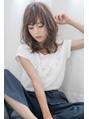 ゆる質感×外はねフェザー☆ひし形MIXカールミディ