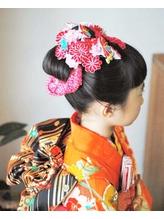 七五三×日本髪.16