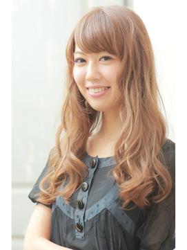 【Hair ange grow】小顔効果◎マルサラ大人ウエーブ♪