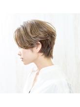 ◇nico◇エアリーショート・ひし形ショート・グレージュ.34