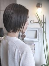 ☆chouchou☆透け感のある暗髪ショートボブ♪ シュシュ.35
