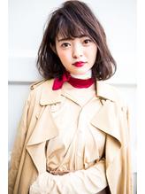 ふんわり可愛い透けバングのボブbyハマダユウキ【湘南/藤沢】.31