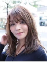 【coma中野】3Dカラーで魅せるシースルーバングラフウェーブ.4
