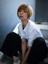 【AINM】#とろみ#ノーブルショート#大人かわいい#ベージュ with.22