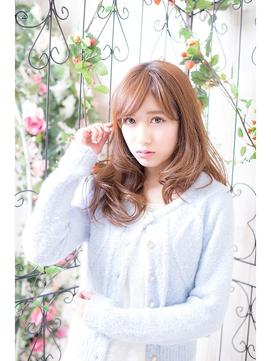 かわいい小顔ふわふわカール♪前髪アレンジタイプ【miel新宿】