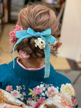 成人式のヘアセット