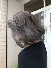 春色♪アッシュベージュ/エアリーショートボブ『 千葉 ラフ』.39